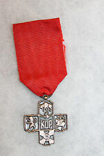 Original WW2 Polish Army 5th Kresowa Infantry Division Veteran's Cross 1941-1971