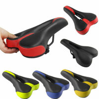 New Mountain Bike Bicycle Cycle MTB Soft Saddle Seat Road Sport Extra Comfort