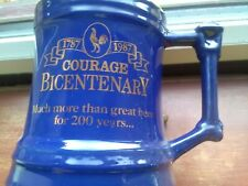 More details for courage bicentenary tankard  1787-1987