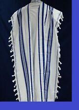 NEW,KOSHER  Tallit / Talit / Tallis 100% Pure Wool , kids / Bar Mitzvah size 18