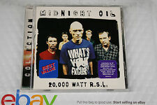 Midnight Oil - 20,000 Watt R.S.L. Greatest Hits (CD 1997, Columbia) EXCELENT