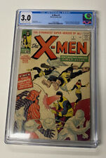 X-MEN 1 CGC GRADED 3.0  Blue Label! Recently Graded! Free Shipping!