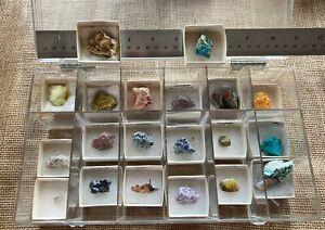 CBR: Vintage 20 Mineral Specimen Collection