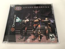 Quake III Arena (Sega Dreamcast) COMPLETE VERY GOOD CONDITION TESTED SHIPS FAST
