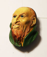 Vintage Bossons Fagin Chalkware Head 4 1/2 inches Congleton England