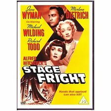 Stage Fright DVD Alfred Hitchcock Marlene Dietrich UK Release Brand New Sealed