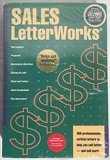 "SALES LetterWorks 3.5"" Disks Vintage Mac Macintosh Software Boxed Complete CIB"