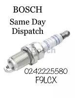 Bosch Spark Plug X1 0242225580 OE Corsa Astra Mokka Adam Zafira 1.2 1.4 1.6 1.8