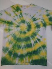 Adult 2021 Handmade Goparel Tie Dyed with Real Dye Classic Cotton T-Shirt Size M