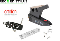 Ortofon OM5E OM 5E Record Player Cartridge & Stylus Protractor Bolts + Headshell