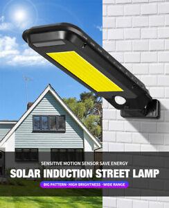 40 60 LED Solar Garden Lamp Street Light Outdoor Lawn Landscape Wall Spotlight