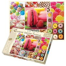 Trefl 1000 Piece Cuisine Decor Candy Collage Adult Large Floor Jigsaw Puzzle NEW