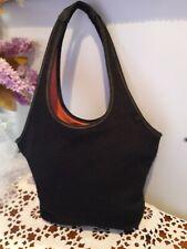 THE SAK Black Polyester Shoulder Handbag
