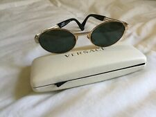 Vintage 1990'S Gianni Versace Sunglasses Gold Metal