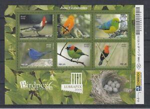 Brasilien  Block 144  Vögel - Birds  **  (mnh)