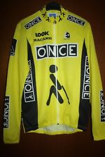 Maglia Shirt Radtrikot Maillot Ciclismo Once Giro Tour Look Macario Vuelta Spain