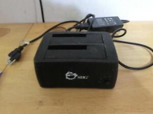 Siig SC-SA0412-S1 Cool Dual SATA to USB 2.0 Docking Station Drive Dock Bay