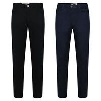 Mens Skinny Jeans Smart Casual Denim Pants Stretchable Trousers All Waist Sizes