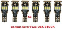 T15 LED 5730 9SMD Canbus Error Free Bulb W16W 921 912 Car Auto White Light 6 pc