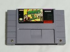 Zombies Ate My Neighbors Super Nintendo Game AUTHENTIC SNES zombie - Works Great