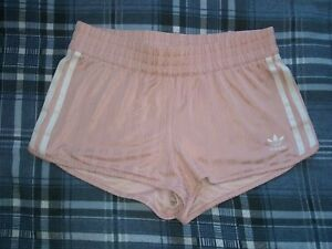 Adidas 3 Stripe Shorts Pink Size 8