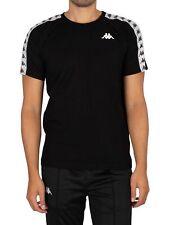 Kappa Men's 222 Banda Coen Slim T-Shirt, Black