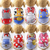 Pet Dog Clothes Summer Puppy Print T Shirts Clothing For Dog Chihuahua Vest