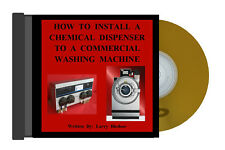 How To Install A Chemical Dispenser To A Commercial Washing Machine
