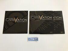 Civilization V 5 - Behind The Scenes DVD + Original Soundtrack