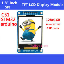 "New 1.8"" inch Full Color 128x160 SPI Full Color TFT LCD Display replace OLED  #5"