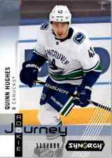 2019-20 Synergy Rookie Journey Away Jersey #RP2 Quinn Hughes /899 - NM-MT