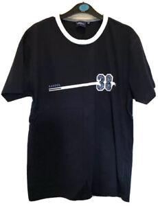 Kangol men's blue t-shirt top Vintage style retro short sleeve UK size M