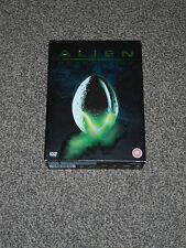 ALIEN QUADRILOGY : 9 FILM DVD BOX SET IN VGC (FREE UK P&P)