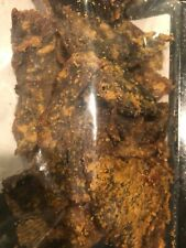 Kilishi - Spicy Beef Jerky African Dried Meat Deliciously Tasty Nigerian 4oz