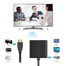 1080P HDMI zu VGA Kabel Video Konverter Adapter für Laptop PC DVD TV PS4 Beamer