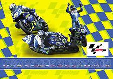 MotoGP Official Merchandise Telefonica Track Flag MGPFLATEL 67cm x 100cm T