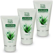 3 x Royal Aloe Vera Hyaluron Feuchtigkeits Pflege Gel After Shave mit 92 % Aloe