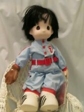 "16"" Precious Moments Casey Baseball Doll"