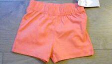 Baby boys M&S cotton shorts elastic waist age 9-12 months mock pockets bnwt ***