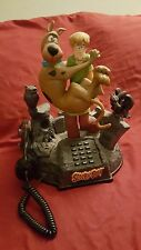 SCOOBY DOO & SHAGGY ANIMATED TALKING TELEPHONE PHONE Sounds Lights