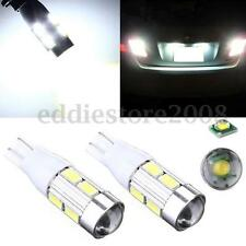 2x White T15 W16W 921 194 10W 5630 SMD Samsung Led Projector Len DC 12V NEW