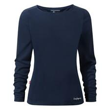 Craghoppers Womens Nosilife Erin Long Sleeved Top Outdoor Clothing Bluemoon 18