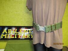 Military Pistol Web Belt Hunting Belt Gray LC2 Medium USED