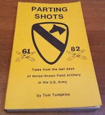 Parting Shots by Tom Tompkins 1988 Softcover Book 1st Edition Numbered 50 of 100