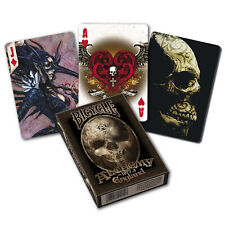 Bicycle ALCHEMY 1977 England playing cards Deck Standard Gothic Fantasy art NEW