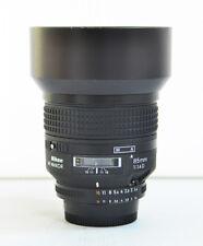 Nikon AF NIKKOR 85mm f/1.4 D Auto Focus Lens