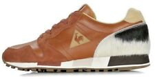 LE COQ SPORTIF STARCOW OMEGA OG MIF 40 BROWN LEATHER PONY HAIR hal r1000 ashe