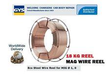 Gys Mig Mag Eco Mag Reel 1.0mm-300mm 18 Kg Acero Er70s-6 / g3si1 Metal Soldadura De Alambre