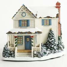 2002 Hawthorne Village Thomas Kinkade Victoria's Christmas 79718 Lighted House