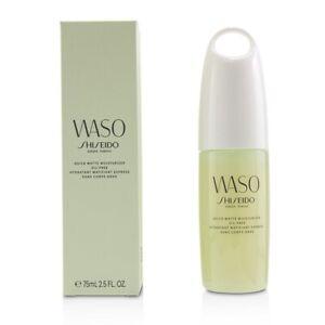 Shiseido Waso Quick Matte Moisturizer Oil-Free 75ml Womens Skin Care
